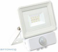 Vorschau: LED-Fluter, Bewegungsmelder OPTONICA FL5843, EEK: F, 10 W, 2700K, weiß