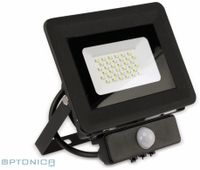 Vorschau: LED-Fluter, Bewegungsmelder OPTONICA FL5861, EEK: F, 30 W, 2700K, schwarz