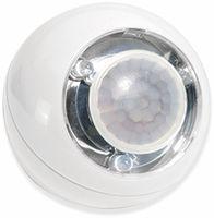 Vorschau: LED Lichtball LLL GEV 728 mit Bewegungsmelder, batteriebetrieb, weiß