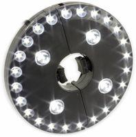 Vorschau: LED-Sonnenschirmbeleuchtung, WS-9812, schwarz