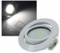 """Vorschau: LED-Einbauleuchte """"Flat-26"""" EEK F, 4 W, 350 lm, 4000 K, weiß"""