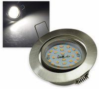 "Vorschau: LED-Einbauleuchte ""Flat-32"" EEK A+, 5 W, 490 lm, 4000 K, Edelstahl"