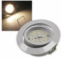 """Vorschau: LED-Einbauleuchte """"Flat-32"""" EEK E, 5 W, 470 lm, 2900 K, weiß"""