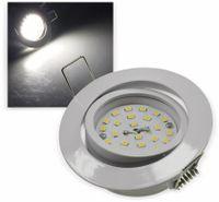 """Vorschau: LED-Einbauleuchte """"Flat-32"""" EEK E, 5 W, 490 lm, 4000 K, weiß"""