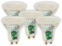 Vorschau: LED-Lampe OSRAM LED BASE PAR16, GU10, EEK A+, 4,3 W, 350 lm, 4000 K, 5 Stk.