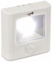 Vorschau: LED-Nachtlicht HEITECH 4003458 mit Bewegungsmelder, weiß, batteriebetrieb