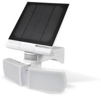 Vorschau: Solar LED-Außenleuchte mit Bewegungsmelder, 20 W, 600 lm, 6000 K, weiß