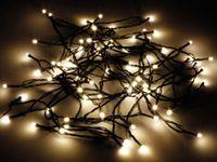 Vorschau: LED-Lichterkette, 80 LEDs, warmweiß, IP44, Timer 6h