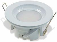 """Vorschau: LED-Einbauleuchte """"Flat-40 FR"""" EEK A+, 5 W, 460 lm, 4000 K, IP 54 weiß"""