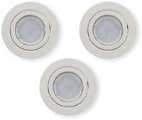 Vorschau: LED-Einbauleuchten Set VT 3333 (8881), GU10, EEK: A+, 5W, 400lm, 3000K, weiß, 3 Stück