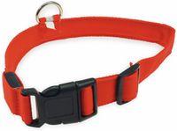 Vorschau: Hunde-Halsband CHILITEC, Größe M, rot, mit LED-Licht