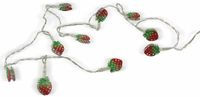 Vorschau: LED-Tischdekoration, Erdbeere, Bastelware