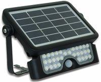 Vorschau: LED-Solar-Außenleuchte LUCECO, 5 W, 550 lm, 4000 K, schwarz
