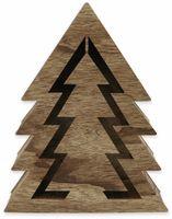 Vorschau: Deco-Holz Baum mit 10 LEDs, TR-TT-01, dunkelbraun, B-Ware