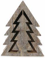 Vorschau: Deco-Holz Baum mit 10 LEDs, GT-TT-02, weißbraun, B-Ware