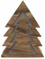 Vorschau: Deco-Holz Baum mit 10 LEDs, TR-TFF-01, dunkelbraun, B-Ware