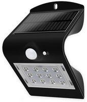 Vorschau: Solar-LED Wandleuchte BLULAXA 48873 mit Sensor, 1,5W, schwarz