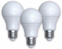 Vorschau: LED-Lampe DENVER SHL-340, 3 Stück, E27, 806 lm, EEK A+, Birne, WW/NW