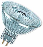 Vorschau: LED-Lampe, OSRAM, GU5.3, A+, 8,00 W, 621 lm, 2700 K