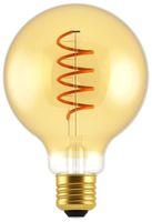 Vorschau: LED-Lampe, BLULAXA Vintage flex Filament, EEK: A, G95, 5W, 250lm, 1800K, gold