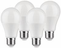 Vorschau: LED-Lampe Birnenform, MÜLLER-LICHT, 400255, 3+1 Set, E27, 9W, matt