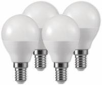 Vorschau: LED-Lampe, Tropfenform, MÜLLER-LICHT, 400257, 3+1 Set, E14 3W, matt