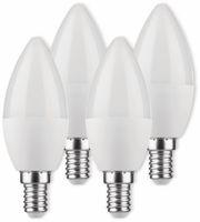 Vorschau: LED-Lampe, Kerzenform, MÜLLER-LICHT, 400258, 3+1 Set, E14, 5.5W, matt