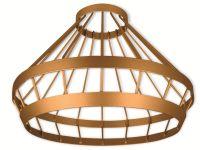 Vorschau: Lampenschirm LEDVANCE Vintage 1906 Cage Gold, 239 mm