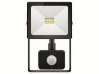 Vorschau: LED-Fluter GOOBAY Slim Classic 39011, EEK: A+, 10 W, 800lm, 4000 K, IP 44, schwarz