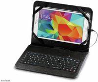 """Vorschau: Tablet-Tasche mit integrierter Tastatur HAMA 50468, 8"""", OTG, schwarz"""