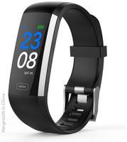 Vorschau: Fitness-Armband SWISSTONE SW 600, schwarz