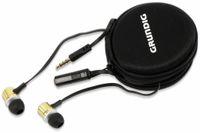 Vorschau: In-Ear Headset mit Flachkabel GRUNDIG 86353, gold/schwarz