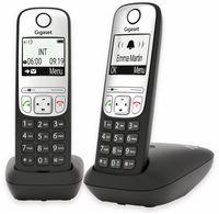 Vorschau: DECT-Telefon GIGASET A690 Duo, schwarz