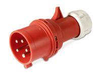 Vorschau: CEE-Stecker PCE Shark, 32 A, 5-polig, 400 V, IP44