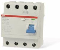 Vorschau: Fehlerstrom-Schutzschalter ABB F204A-40/0,03, 40 A