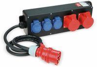 Vorschau: Stromverteiler, STEYREGG, PCE, 2x CEE 16A, 3x Schutzkontakt-Steckdose