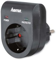 Vorschau: Überspannungsschutz-Gerätestecker, schwarz, 3500 W