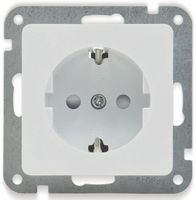 Vorschau: Schutzkontakt-Steckdose DELPHI, 16A/250V, weiß