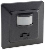 Vorschau: Bewegungsmelder MILOS 23044, 400 W, 250V~, 160°, LED geeignet, anthrazit