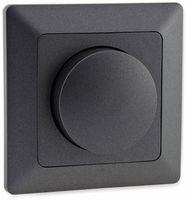 Vorschau: Dimmer MILOS 23045, 3-60 W, 250 V~, für LED Lampen, anthrazit