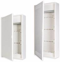 Vorschau: Kommunikationsverteiler F-TRONIC, AP, APV48K, mit 3-fach Steckdose, 4-Reihig