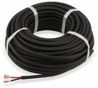 Vorschau: Lautsprecherkabel PREMIUMBLUE BLS250-HIGHFLEX, 2x2,5², schwarz, 25m