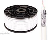 Vorschau: Koaxialkabel 75 Ω, 7,2 mm, 120 dB, 100 m, CCS
