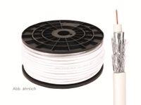 Vorschau: Koaxialkabel 75 Ω, 7,2 mm, 120 dB, 100 m