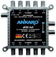 Vorschau: SAT-Multischalter ANKARO dCSS 5x2