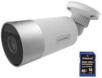 Vorschau: Überwachungskamera-Set JVS-DC810C, Wlan, In- und Outdoor, inkl. 16 GB SD-Karte