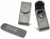 Vorschau: Outdoor-Funksteckdosen-Set GT-FSA-05, schwarz, B-Ware