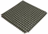 Vorschau: PVC Duschmatte, Bodenrost, 300x300x12 mm, beliebig anreihbar, grau
