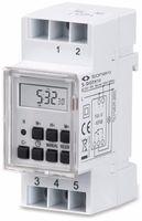 Vorschau: Digitale Zeitschaltuhr SONERO S-DOTH10, 3500 W, DIN-Schiene, weiß