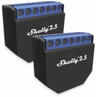 Vorschau: Dual-WiFi-Switch SHELLY 2.5, Dual-Schalter, 2er Set